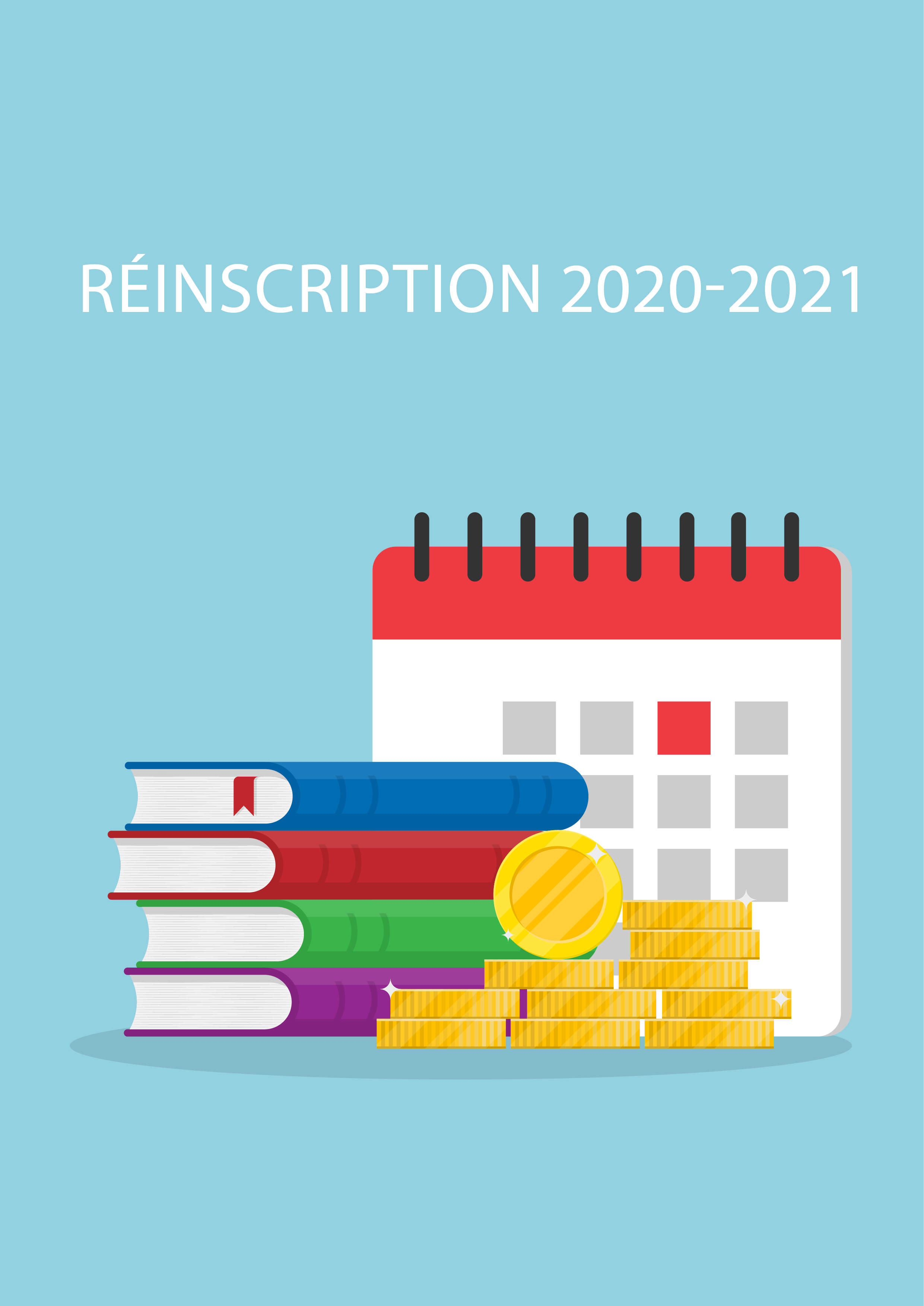 Réinscription 2020-2021